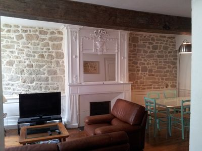 Photo for Apt. of 85 sq.m, 100 m from the harbour of Vannes and the historical district