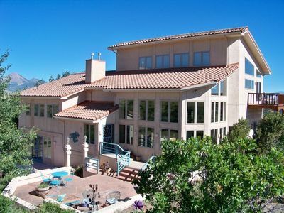 Photo for Luxury Villa with majestic Colorado Rocky Mountain views in every direction