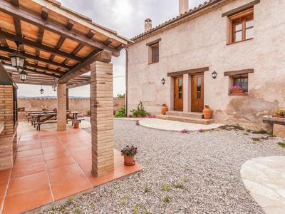 Photo for Restored farmhouse  with swimming pool in the interior of Catalonia