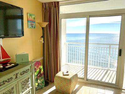 💎ISLAND TIME Parrot Cabana; Direct Oceanfront Balcony; King NEW TILE throughout