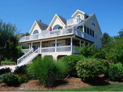 Photo for Lux Oceanside Beach Home-North Bethany Beach-Private Beach, Gated Community!