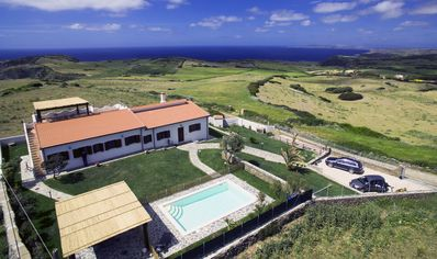 Photo for luxury villa in Sardinia with pool and spectacular views of the sea Stintino