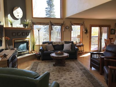 Photo for Magnificent Views, spacious open and sunny duplex, near trails