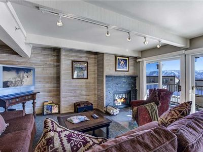 Photo for Fantastic Condo with Pool and Hot Tub Amenities, Shuttle Stop and Private Deck with BBQ Grill