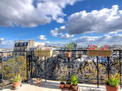 Photo for Apartment in Paris with Lift, Internet, Washing machine, Balcony (91457)