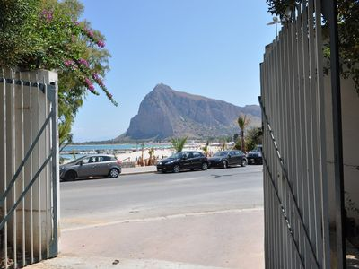 Photo for Villa Faro just 20 meters from the sandy beach in San Vito Lo Capo.
