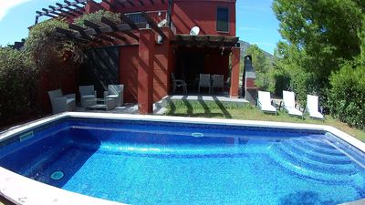 Photo for Beautiful villa with private pool in Golf Club de Bonmont