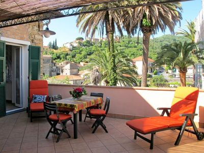 Photo for Caramagna Ligure Apartment, Sleeps 6 with Air Con and Free WiFi