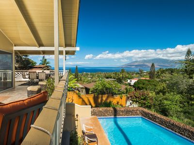 Photo for Private Wailea Home! Amazing Ocean Views! Large Pool!