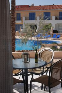 Photo for Peaceful ground floor poolside apartment in Anarita near Paphos
