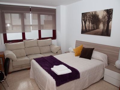 Photo for Full apartment near As cancelas leisure center, Xunta de Galicia and Station
