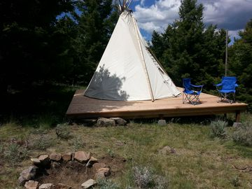 Relaxing, Secluded Tipi