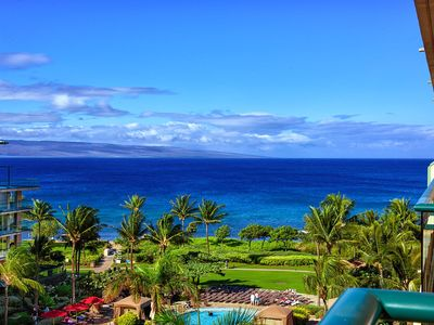 Photo for K B M Hawaii: Ocean Views, 6th Floor Views! 2 Bedroom, FREE car! Dec & Jan Specials From only $251!
