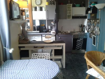 Photo for Quiet and charming apartment, in the heart of the historic center of La Rochelle