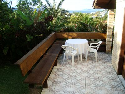 Photo for Charming house in Garopaba, with balcony and sea view