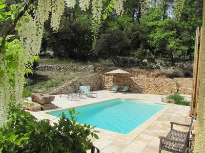 Photo for VILLA IN CALM SWIMMING POOL 5000 M ² OF GROUND IN FULL NATURE PROVENCE