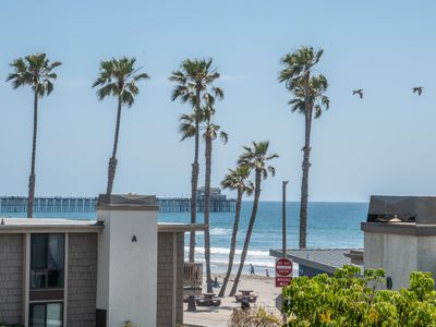Photo for Perfect summer beach condo with a view! Listen to the waves~