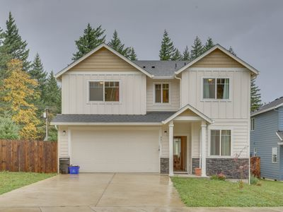 Photo for NEW LISTING! Newer dog-friendly home with great Columbia Gorge access!