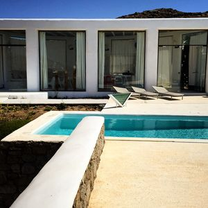 Photo for Mykonos Stars Villa A Modern House with Private Pool and Stunning, Private Views