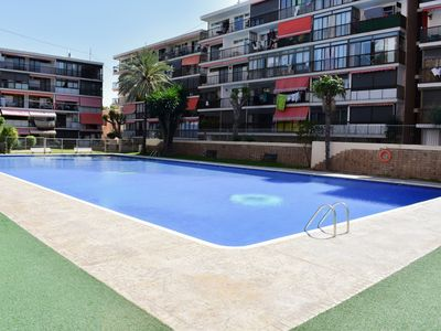 Photo for Apartment 1.1 km from the center of Benidorm with Lift, Internet, Washing machine, Pool (908508)