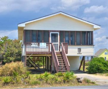 Photo for Affordable, 2nd row, beach get away-3 Bedrooms/ 1.5 Baths-Ocean Views-Sleeps7