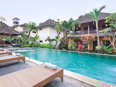 Photo for 4-Bedrooms Beautiful Bungalows Ubud Center