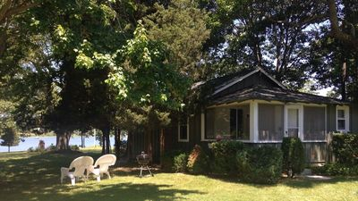 Photo for Charming Waterfront Cottage on Private Estate