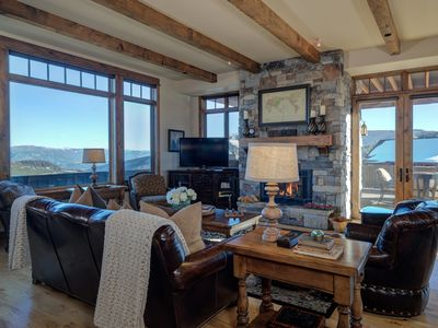 Photo for Moonlight Luxury Suite w/ Lodge Access, Scenic Views, & Ski In/Out