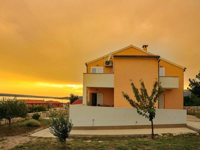 Photo for Spasious two storey holiday home with great sea view terrace, 300m from the sea