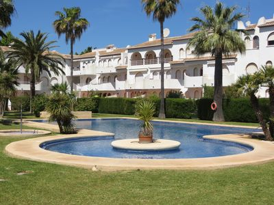 Photo for Nice apartment with free WiFi fiber located a few minutes walk from the sea