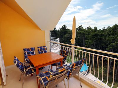Photo for Two bedroom apartment with terrace Jadranovo (Crikvenica)