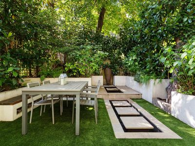 Photo for Contemporary 2BR with garden, short walk from Kensington Gardens, by Veeve