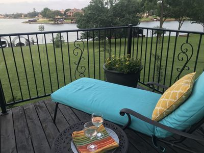 Photo for SALE! Aug 23-25   $475!  Luxury Lakefront,3,000 sf,  2 Masters,  Hot Tub, , Dock