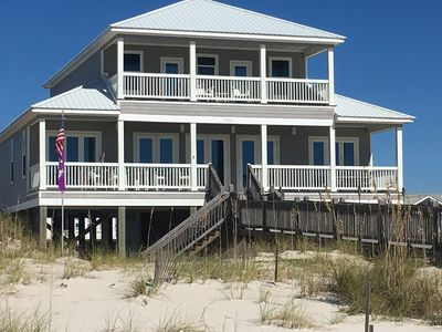Photo for Fort Morgan, Gulf Front, beautifully decorated 5BR/4.5Bath family home