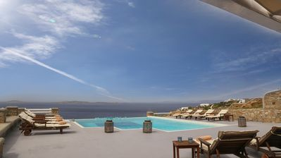 Photo for 3 Bedroom Luxury Villa with infinity swimming pool and sea view for 7 people
