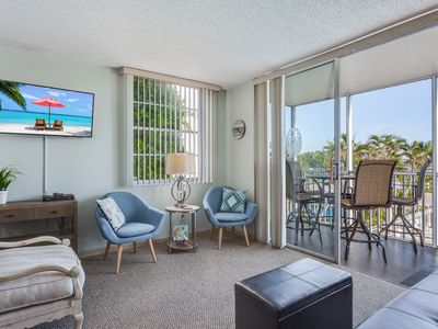 Photo for Waterfront condo w/ a shared pool, hot tub, tennis courts, & shuffleboard