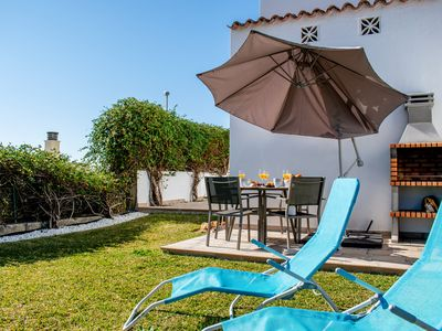Photo for Ground floor with beautiful garden and BBQ area - Costa Galera