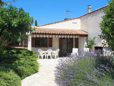 Photo for 2 bedroom Villa, sleeps 6 in Le Mitan with Pool, Air Con and WiFi
