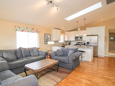 Photo for Modern Home, Great Location with Easy Nearby Beach Access!