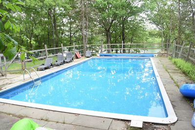 40x20 Private pool for tenants of this home