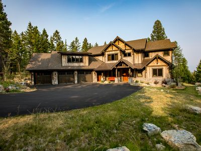 Photo for Luxurious Lakeside Home just minutes from Flathead Lake Access! Sleeps 9!