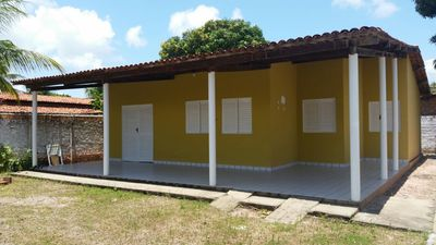 Photo for Excellent house with pool deck and support, located 200m from the beach of tabuba