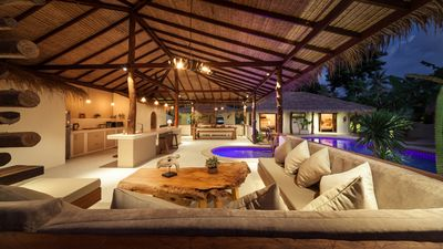 Photo for Baan Maprao, 10 bedrooms, 2 swimming pools, 2 private villas,  for up 20 guests!