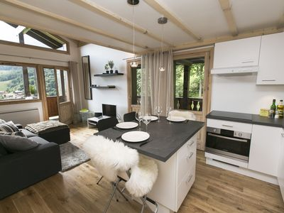 Photo for Exceptional view, ski directly from the apartment!