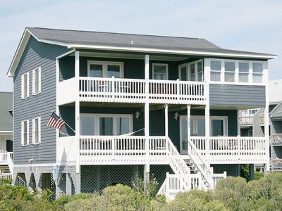Photo for Sweet Retreat: 5 Bed/3 Bath Oceanfront Home with Private Walkway to the Beach