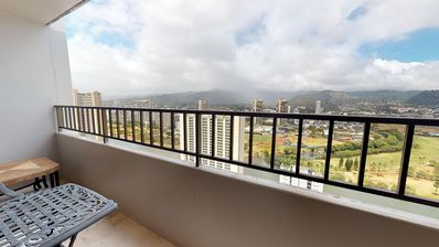 Photo for Bright 35th-floor condo in Waikiki w/ amazing view, shared pool & free parking!