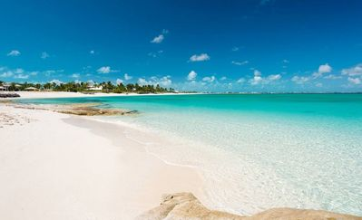 Photo for New Listing 60 Second Walk  to Grace Bay Beach! 1BR, Lush Gardens!! New Villa!!