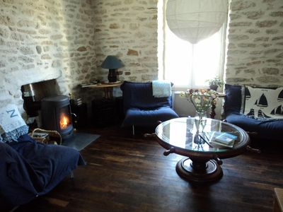 Photo for A fully renovated house, close to the fishing port of Guilvinec (Brittany)