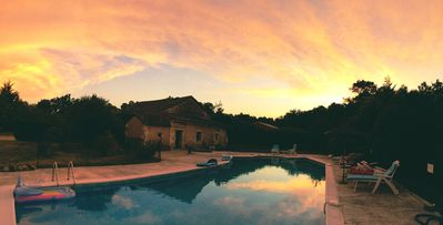 Photo for Dordogne Farmhouse with Large Private Pool