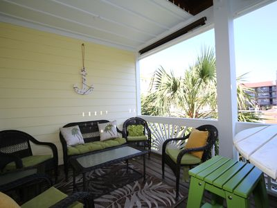 Photo for Bowfin - Spacious, updated, 4 bedroom duplex within an easy walk to the beach